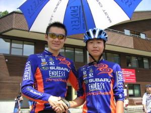 プロライド初のライダーは江越駿也選手
